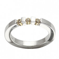 Possibilities ring, 3 brill.