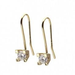 Possibilities øreringe 14 karat guld