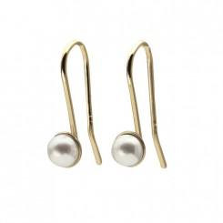 Possibilities øreringe 14 karat guld med perle
