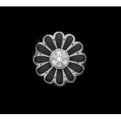 Øreclips Black/sølv