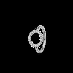 Topas Circle Ring