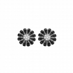 8MM Black Marguerite