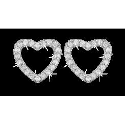 Topaz Sparkling Hearts Sølv