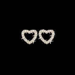 Topaz Sparkling Hearts Forgyldt Sølv