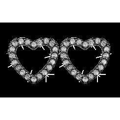 Topaz Sparkling Hearts Oxyderet