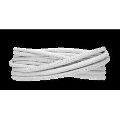 White Læderarmbånd 3