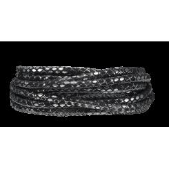 Silver Black Armbånd 70