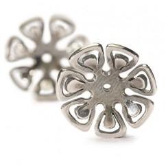 Øreperler sølv, Grafisk blomst
