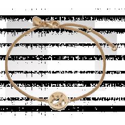 The World bracelet, goldpl silver