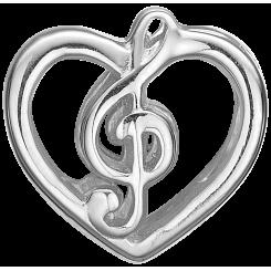 Music Love Sølv Charms