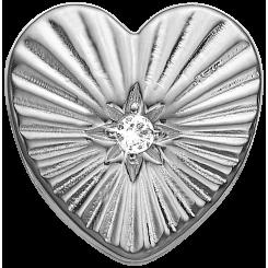Sunshine Heart Sølv Charms