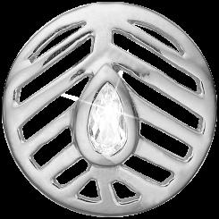 Open Leaf Sølv Charms