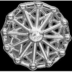 Carousel Sølv Charms