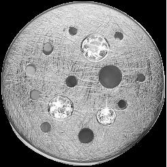 The Moon Sølv Charms