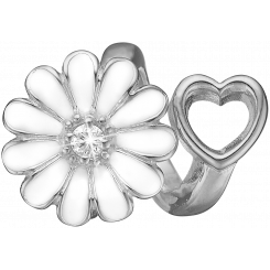 Marguerite Heart Charms