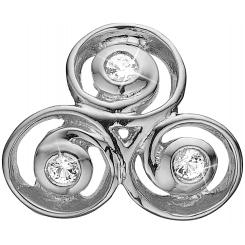 Triple Spiral Charms
