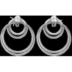 Glædecirkler, øreringe, sølv