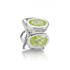 Charms Lime farvede Ovale Lys,