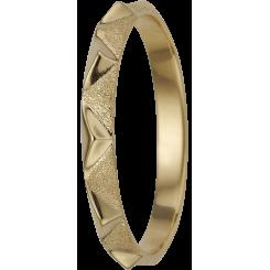 Bjerge, guldpl sølv Ring
