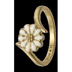 Marguerite Power, guldpl. sølv Ring