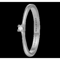 Labgrown Diamond 0,03ct, sølv