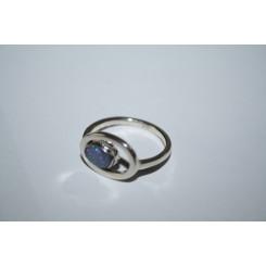 Sølvring med Opal 108