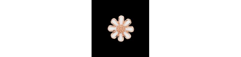 Rose Forgyldt Sølv